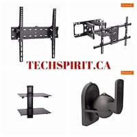 TV Wall Mount Fixed/Tilting/Full Motion/Corner/Ceiling/Projector Mount Mississauga