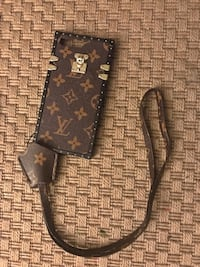 Sac en cuir monogram louis vuitton noir et marron Montmagny, 95360