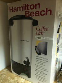 gray Hamilton Beach 42 cup coffee urn box