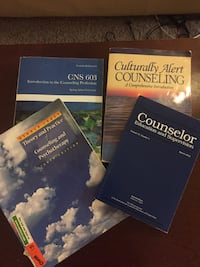 Counseling books, $12 for all 4 Kentwood, 49512