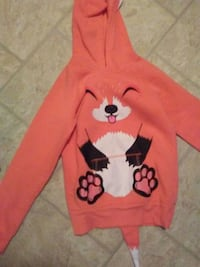 red and black Mickey Mouse print pullover hoodie Lloydminster, T9V 1C8