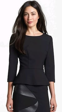 Hugo Boss Banora Peplum Blouse