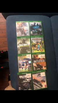 Xbox one games  Addison, 60101
