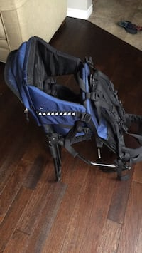 baby's blue and black stroller Sherwood Park, T8A 5T6