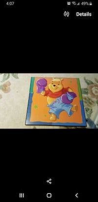 Winnie the Pooh Wall photos/plaques Mississauga, L5M 4Z9