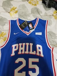New Ben Simmons No.25 Philadelphia 76ers jersey  Sugar Land