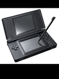 black Nintendo DS with game cartridge Edmonton, T5L 0S3
