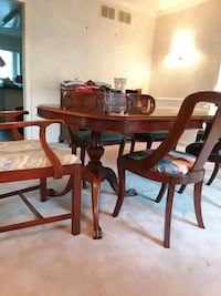 Dining room table with chairs Rockville, 20854