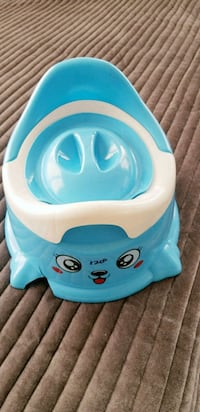 baby's blue and white Little Tikes plastic bather Brampton, L6R