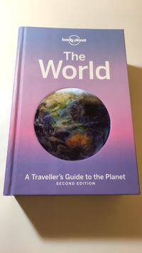 Lonely Planet Travel Book 3733 km