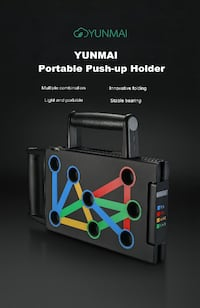 Protable Push-up Support Board Training System