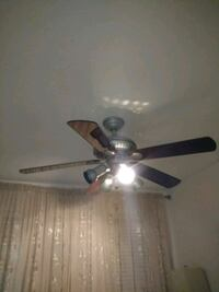 Ceiling fan with remote (moving sale) Milton