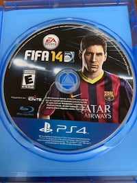 PS4 FIFA 14 Video Game