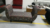 two brown wooden framed brown padded armchairs Calgary, T3J 0C3