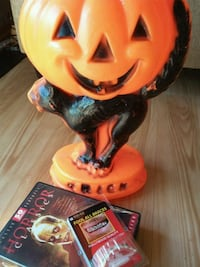 Vintage Halloween Light Up + 50 DVD Movies + Sterling Heights, 48312