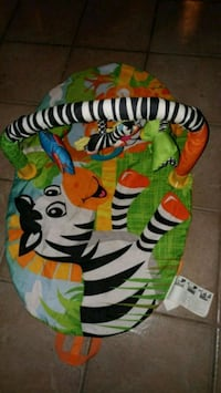 baby's multicolored animal print bouncer Welland, L3C 6R8