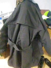 Trench coat. Has Dept. Of Logistics Agency tag Anchorage, 99503