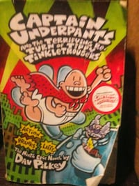 Captain underpants new book