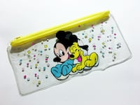 Mickey Mouse Pluto Clear Plastic Pencil Case  Vancouver, V5K 3C9