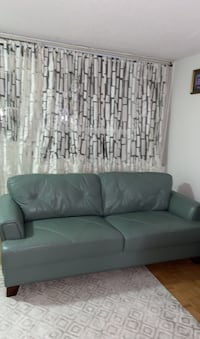Real Leather Couch Colour Turquoise Toronto, M4K 3G7