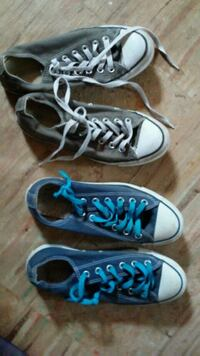 pair of blue Converse All Star high-top sneakers Shelton, 98584