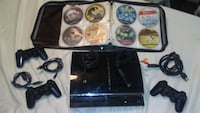 PS3 FAT.80GB.4 output.75 Games and 3 Control's.OBO Prattville, 36067