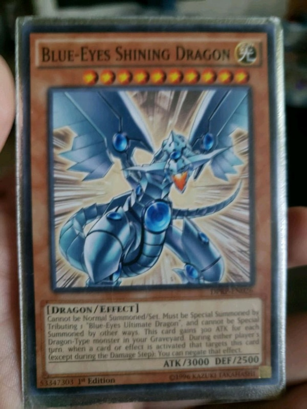 1st edition BLUE EYES SHINING DRAGON