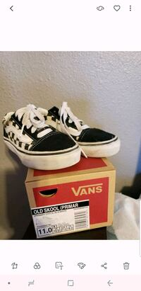 white & black Vans low-top sneakers with box Norwalk, 90650