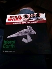 StarWars Imperial Star Destroyer steel model kit Minneapolis, 55411