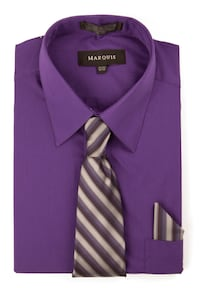 Dress Shirts with Ties & Handkerchief 333 mi
