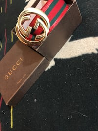 Red Gucci belt  Toronto, M6E 2N8