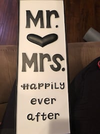 Mr. & Mrs sign Youngsville, 70592