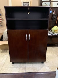 2-Entertainment cabinets in cherry