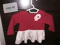 red and white crew-neck sweater East Wenatchee, 98802