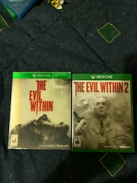 Evil within and evil within 2 Xbox one  Newmarket, L3Y 8W2