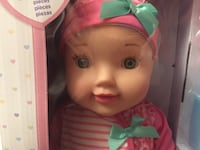 Baby Doll With Carrier Playset (You & Me 16 Inch) / Brand new