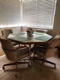 Kitchen table with 4 chairs Boca Raton