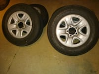 Toyota Tundra rims and tires Whittier, 90606