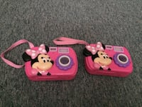two pink Minnie Mouse camera toys Ottawa, K0A