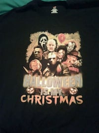 Halloween is my christmas T-Shirt(new ) Mount Pearl, A1N 2Z6