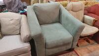 SAGE GREEN MICROFIBER SINGLE CHAIR  Forest Hill, 21050