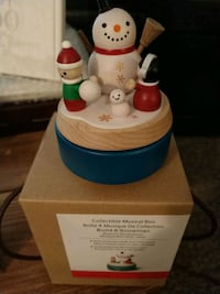 New Christmas collectible music box Greenbrier, 37073