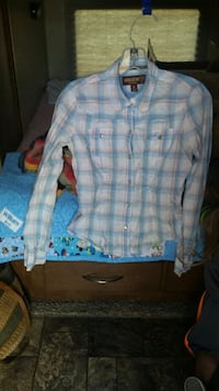 Hollister light flannel szM  Golden Valley, 86413