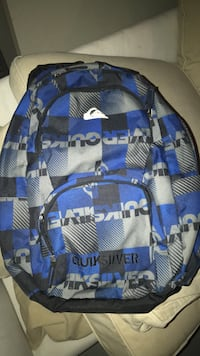 blue and gray camouflage backpack Livonia, 48154
