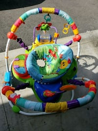 baby's multicolored jumperoo Watsonville, 95076