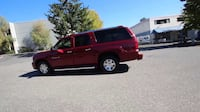 Red Cadillac Escalade ASHBURN