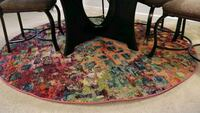 """6'7""""Multi color rug/carpet- clean, smoke free Roswell, 30076"""