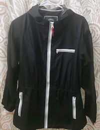 Vince Camuto Jacket with reflective zipper sz LARGE
