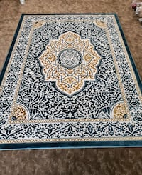 Blue, white and gold color, new,8' by 11' rug New Brighton, 55112