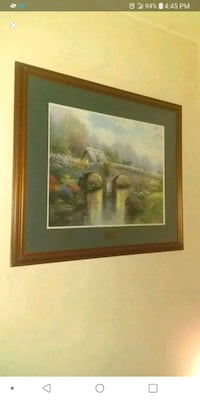 Wall picture thomas kincade valued at $800 Lincoln, 68502
